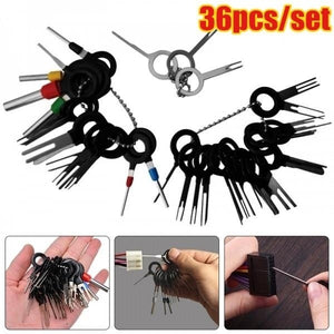 36/18/11/8/3Pcs/Set Car Terminal Removal Tools Wire Plug Connector Extractor Puller Needle Retractor Tools Kit
