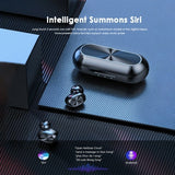 Sporty Wireless Stereo Headphones Mini Earbuds with Charging Box