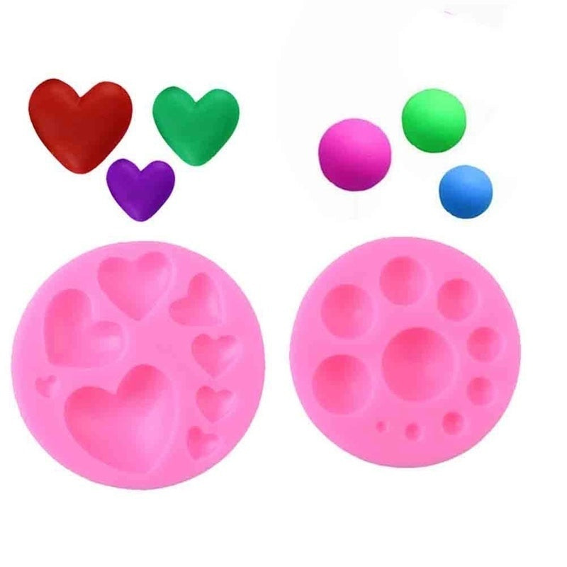 3D Small Love Heart Silicone Cake Mold Diy Baking Candy Chocolate Soap Moulds Fondant Cake Decorating Tools Fashion