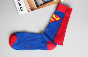 Batman Superman Middle stockings Casual socks Sports socks