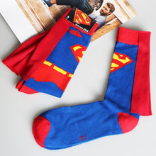 Load image into Gallery viewer, Batman Superman Middle stockings Casual socks Sports socks