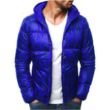 Autumn and Winter Camouflage Casual Down Jackets for Men Warm Cotton Jackets