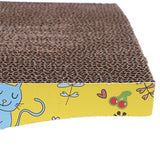 Pet Cat Corrugated Board Catnip Toy Claw Care Biting Toy Board for Cat