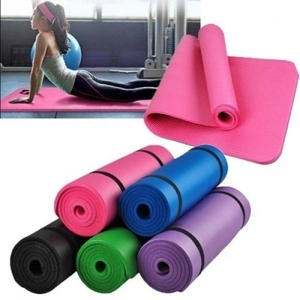 1pcs Fitness Mat 4MM Yoga Mat EVA Non-slip Fitness Slim Yoga Home Exercise Mats Pilates sports Exercise Pads