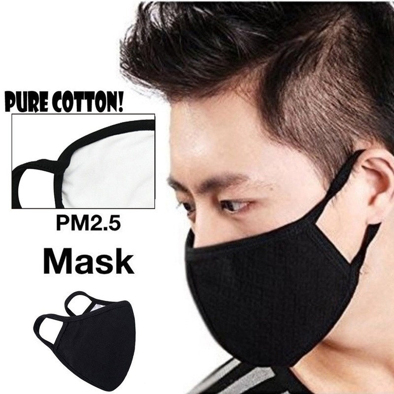10/20PCS Reusable Washable Anti-dust Cotton Mouth Face Masks Dustproof Mouth Cover for Man and Woman