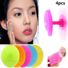 Load image into Gallery viewer, 4Pcs Bath Cleansing Brush