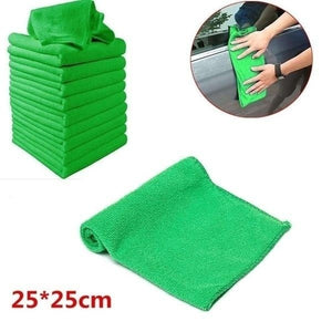 1/5/10/20/30/40/50Pcs Microfibre Cleaning Auto Soft Cloth Washing Cloth Towel Duster 25x25cm Car Home Cleaning Micro Fiber Towels