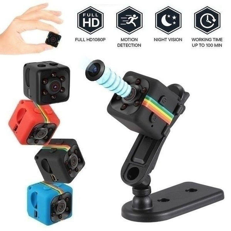 Hot High quality SQ11 Mini Micro HD Adjustable Camera Dice Video Night Vision HD 1080P Camcorder Motion Sensor Hidden Camera Monitors Wifi Remote Monitoring
