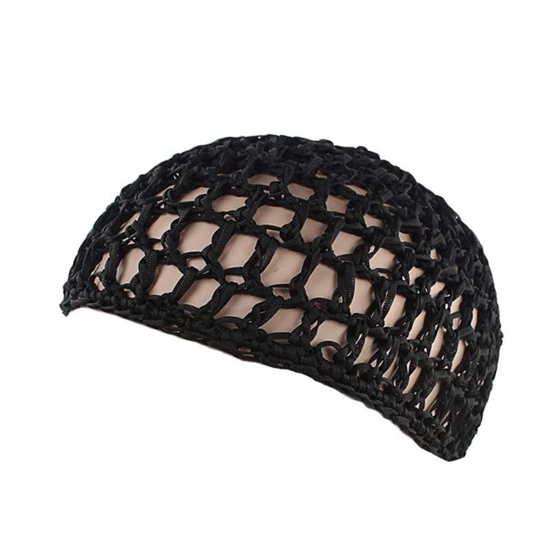 1 Pcs Wig Caps for Women Hand Crochet Hair Woven Hair Net Hair Cap Night Sleep Cap Bonnet Hairnets
