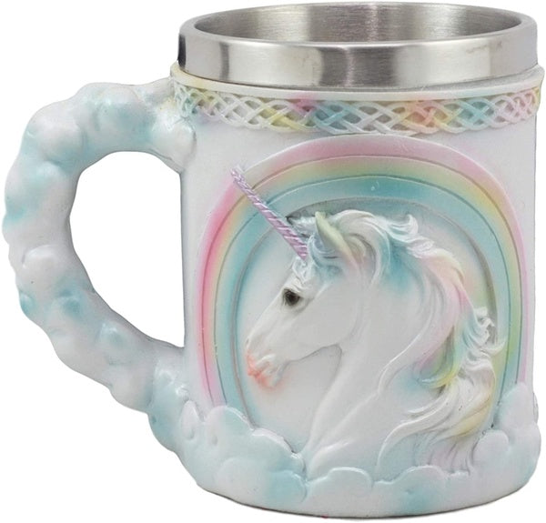 Ebros Rainbow Unicorn Coffee Mug 13oz Elixir Of Youth Sacred Unicorn Themed Novelty Mug