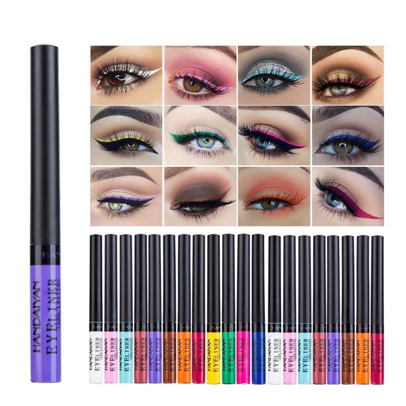 2/6/12pcs Eyeshadow Set Waterproof Matte Makeup Liquid Eyeliner Pen