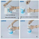 100PCS / Box Household Disposable 75% Alcohol Wipes Disinfection Medical Supplies Sterilization 99.9% Hand Care Health