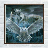 Tiger Cat Eagle 5D Diy Diamond Painting Mosaic Resin Diamond Embroidery Cross Stitch Painting Home Decoration
