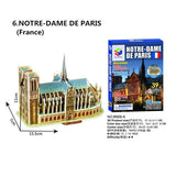 3D Stereo Jigsaw Mini-World Building Model Puzzle Children'S Jigsaw Paper
