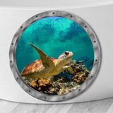 3D Wall Stickers Turtle Ocean Animals Decals Vinyl Mural Room Decoration Accessory Cute New Hot