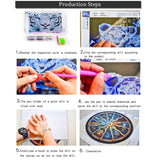 12 Styles New Full Drill 5D Diy Diamond Painting Love Heart Home Letter Cross  Mosaic Crafts Stitch Embroidery Decor Living Room Decoration