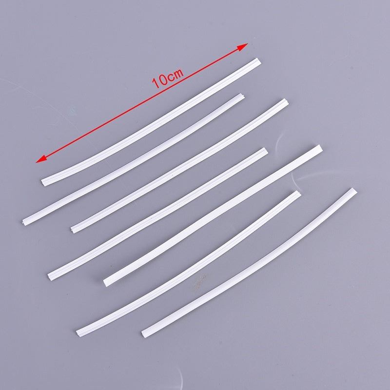 1000/500/200pcs 10cm Nose Adjuster Strip DIY Making Accessory For Nose Bridge Protection