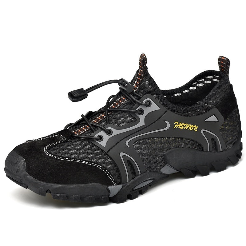 Men's Hiking Shoes Outdoor Climbing Shoes Quick-drying Water Shoes Lightweight Casual Breathable Mesh Trekking Shoes(Size:38~50)