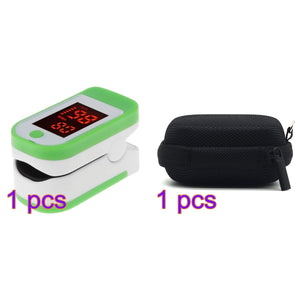Finger Pulse Oxygen Saturation Monitor Blood Oximeter Blood Meter Waterproof Pulse Oxygen Storage Box /Without Battery
