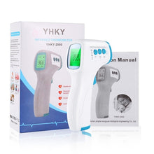 Load image into Gallery viewer, Non-contact Infrared LCD Monitor Thermometer Infrared Forehead Thermometer