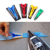 5 Size Fabric Bias Tape Maker Tool Sewing Tool Handmade Quilting 6mm 9mm 12mm 18mm 25mm Set Sewing Accessory