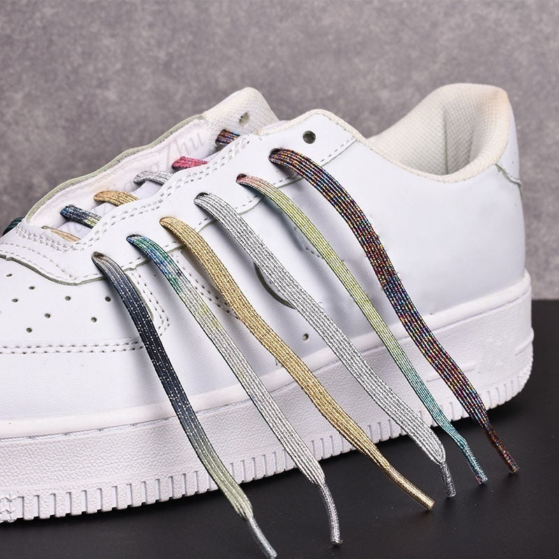 2020 Fashion New Magnetic Shoelaces Elastic Shoe Laces Creative No Tie Shoelace Kids Adult Unisex Leisure Sneakers Locking Shoelace