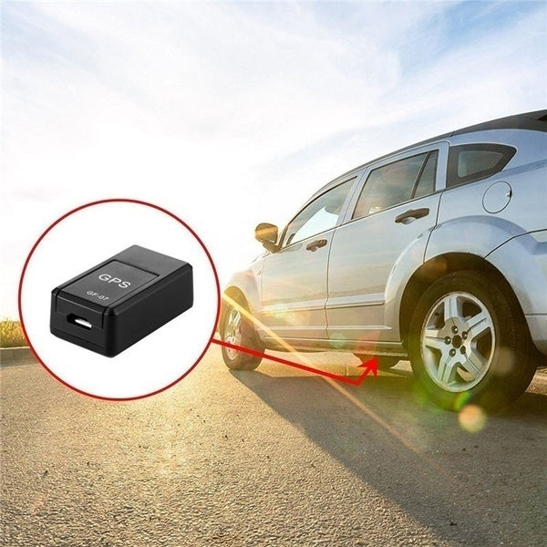 1PCS Mini Real Time Magnetic GPS Tracking Device Spy Gps Locator System Portable GPS Global Tracker for Car Motorcycle Truck Kids Teens Old and Other Moving Objects