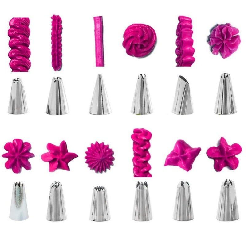 8/12/14/72/83 Pcs DIY Cake Decorating Supplies Professional Cupcake Decorating Kit Baking Supplies Pastry Tools