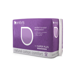 Comforts Premium Super Plus Pads Bulk (4 Packs)