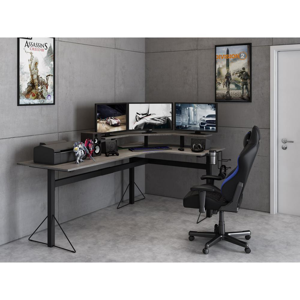 L-Shaped Desk 78 inch - Happyaisle