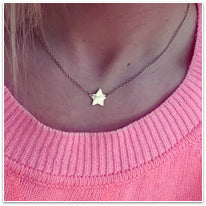 Silver Edition Star Necklace