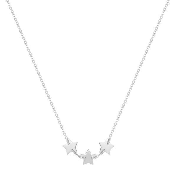 3 Stars Necklace - NECKLACE - [variant.title]- Borboleta