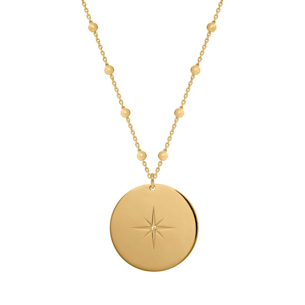 North Star Necklace - NECKLACE - [variant.title]- Borboleta