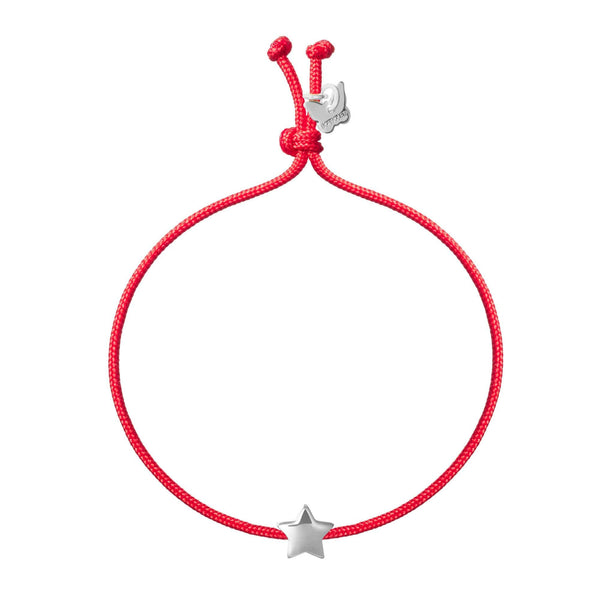Bubble Star Bracelet - White Gold Plated - BRACELET - [variant.title]- Borboleta