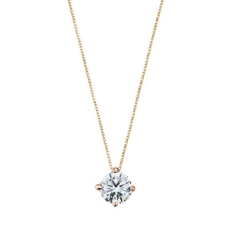 Bisou - Zircon Necklace - NECKLACE - [variant.title]- Borboleta
