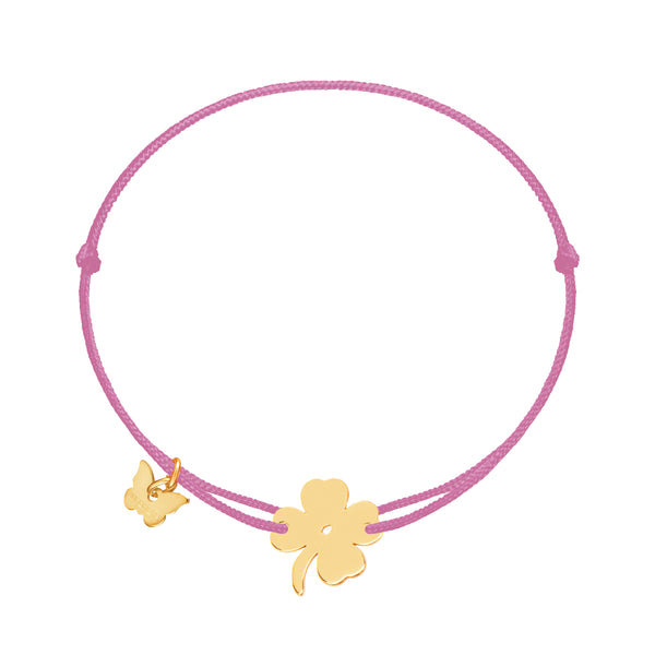 Classic Clover Bracelet - Yellow Gold Plated