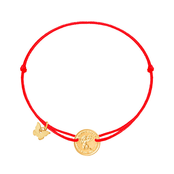 Angel Medallion Bracelet