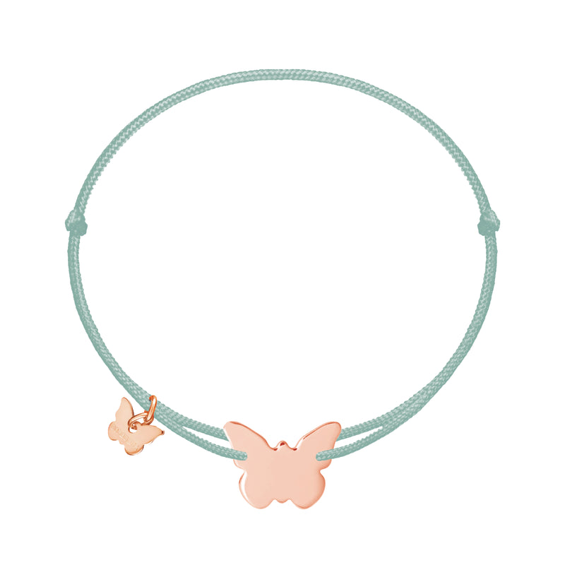 Classic Butterfly Bracelet - Rose Gold Plated