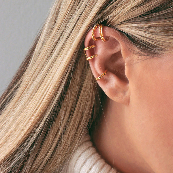 Single Dots Ear Cuff - EARRINGS - [variant.title]- Borboleta