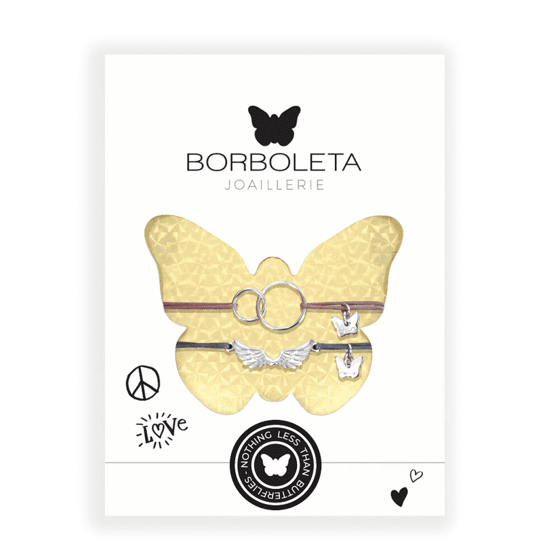 New York Package Two Rings with Wings - PACKAGE - [variant.title]- Borboleta