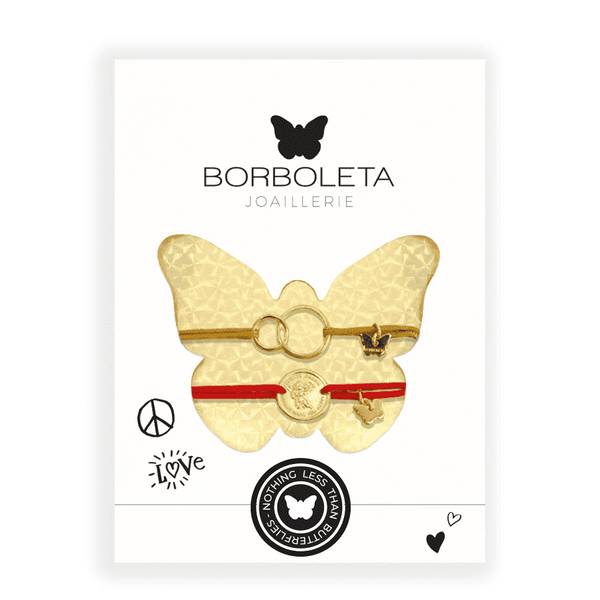 New York Package Two Rings with Angel Medallion - PACKAGE - [variant.title]- Borboleta