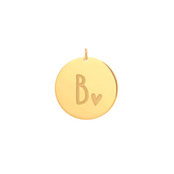 Love Letter Pendants - Yellow Gold Plated - PENDANT - [variant.title]- Borboleta