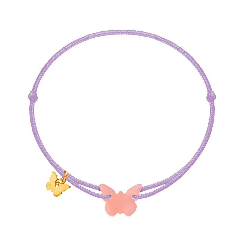 Candy Blush Butterfly Bracelet