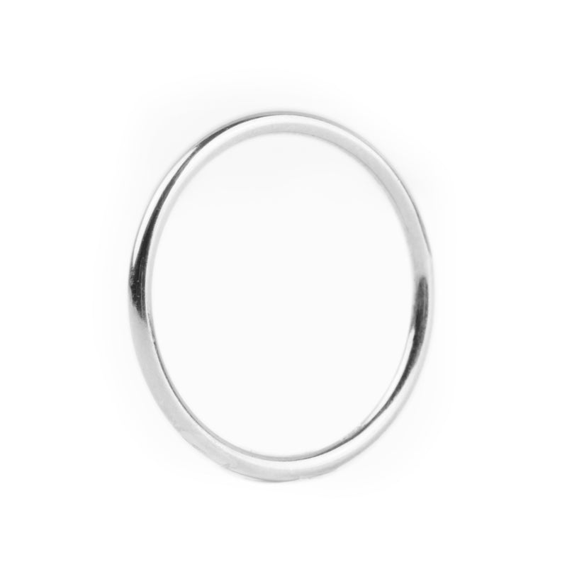 Thin Rounded Ring - RINGS - [variant.title]- Borboleta