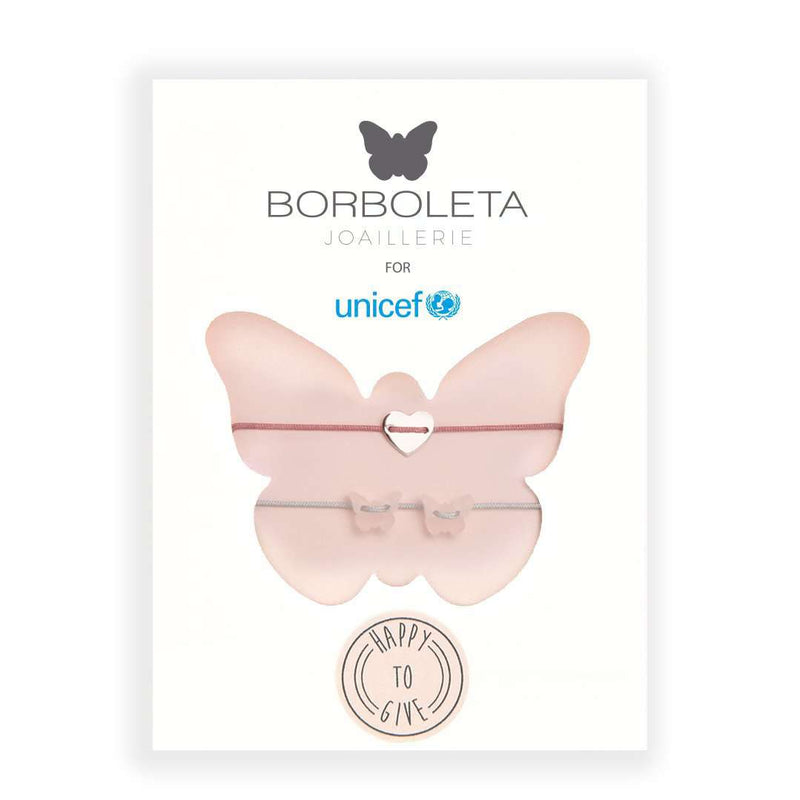 #HAPPYTOGIVE - BORBOLETA FOR UNICEF - STYLE 2 - PACKAGE - [variant.title]- Borboleta