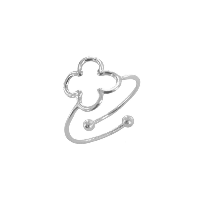 Hole Clover Ring - RINGS - [variant.title]- Borboleta