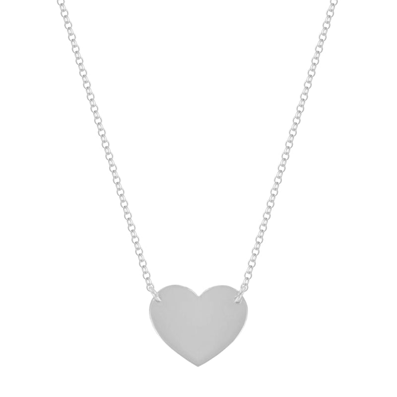 Sterling Silver Love Necklace - NECKLACE - [variant.title]- Borboleta