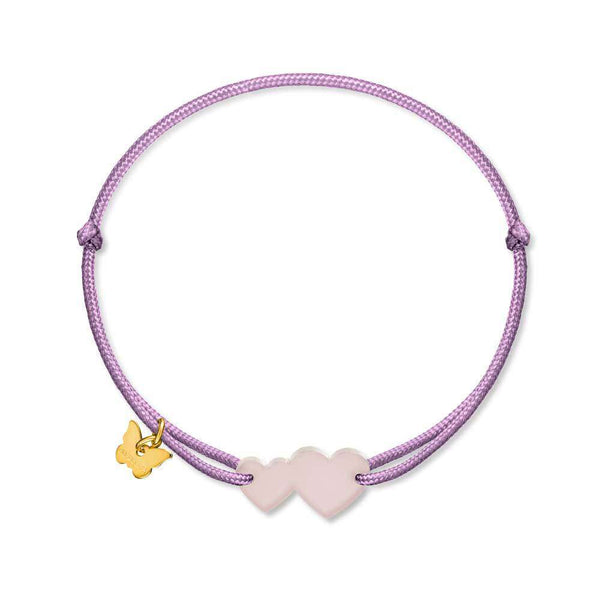 Two Hearts - BRACELET - [variant.title]- Borboleta