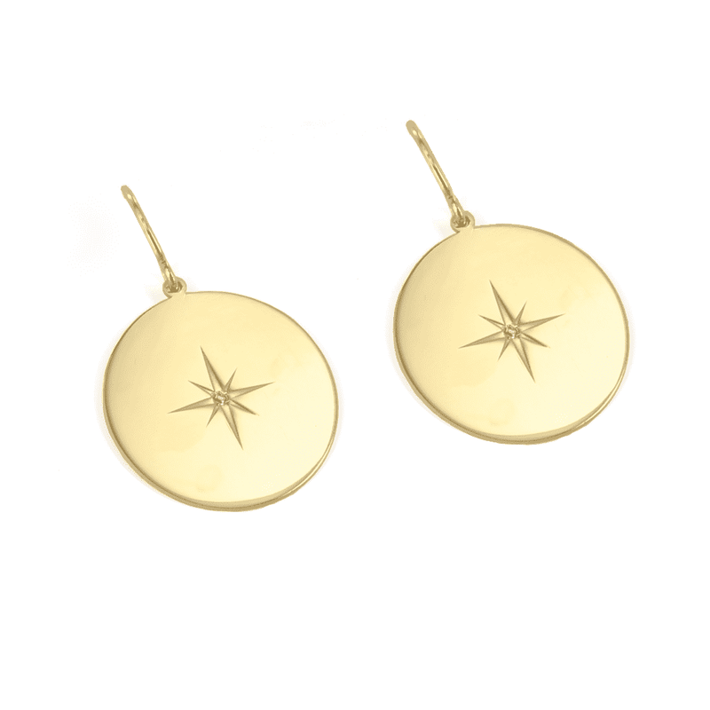 North Star Earrings - EARRINGS - [variant.title]- Borboleta