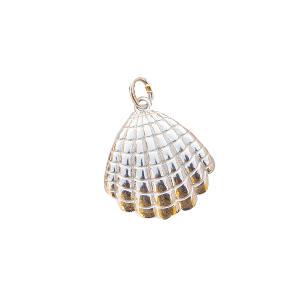 925 Collectable Charm Rhodium Shell - PENDANT - [variant.title]- Borboleta
